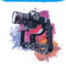 photographic equipment of handheld gimbal 5 axis stabilizer camera