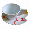 Top Grade West Design Melamine Coffee Cup Set