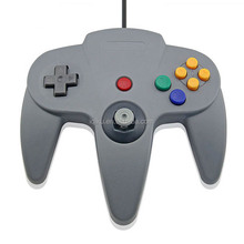 Retail Packaging Gray Color USB Game Wired Controller Joypad Joystick Gamepad For N64 Game System