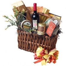Customized best wine and cheese gift baskets