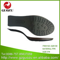 Ladies high quanlity half soles for shoe repairs