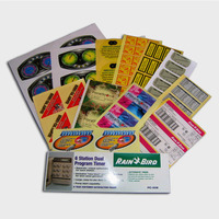 Customize Printed Thick Material Vinyl Stickers On Sale Manufacture