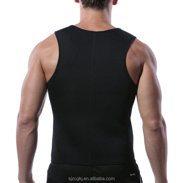 Hot product custom Weight Loss neoprene weighted body shaper vest for men
