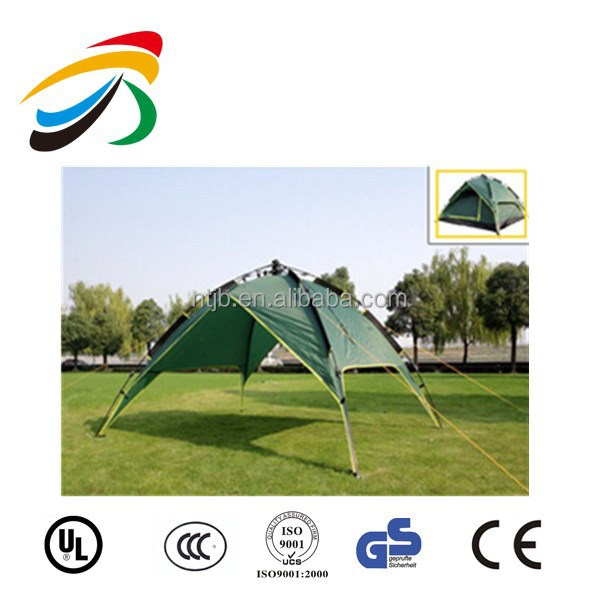 New 2015 heated high quality double layer camping tent multifunctionte tent waterproof camping tube tent