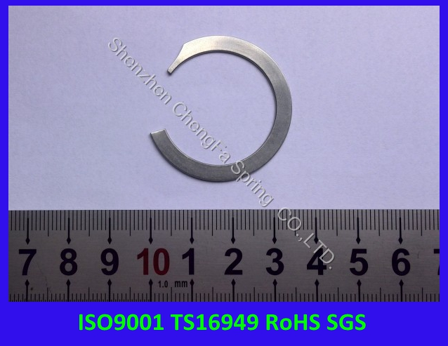 ISO9001,TS16949, RoHS compliant stainless steel snap ring