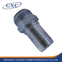 10711 Ningbo Factory Directly GB Metric Male 74 Degree Cone Seal fitting