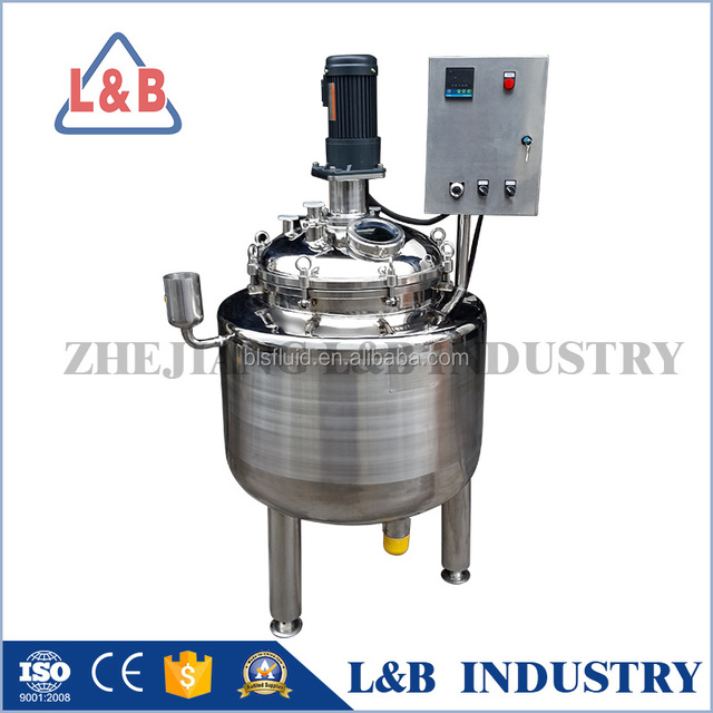 cosmetic emulsifier mixer, chemical machinery for daily using, cream emulsion equipment
