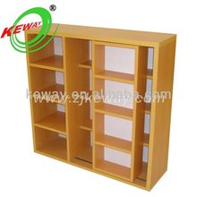 Wooden Double Sided Book Shelves