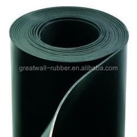 Neoprene CR - Commercial Grade - 60A - Rubber Sheet - Smooth Finish, No Backing 2mm x 0.9421m x 15.24m
