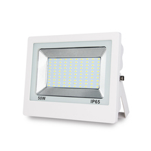 White body IP65 110lm/<strong>w</strong> 4KV PF 0.95 50 watts led flood light