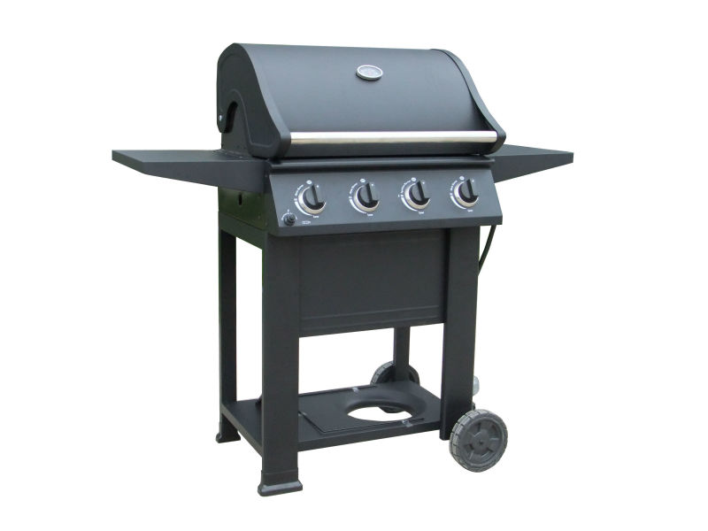Four bunrer CSA approved industrial gas grill (PG-4040800LD )