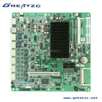 ZC-M256L Firewall Motherboard Onboard CPU Industrial Computer Motherboard With 6 Network Card