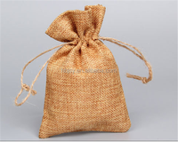 manufacture drawstring jute burlap bags candy jute pouch bags and wine burlap hessian sacks bags