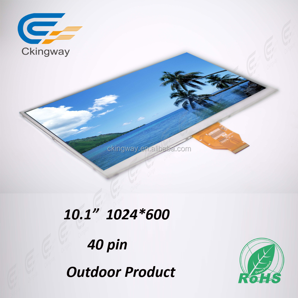 "10.1"" color 16.7M lcd touch screen display module"