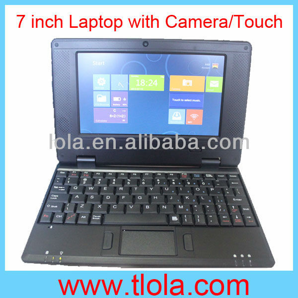 7 inch Notebook Computer with Via 8650 Android 4.0 WIFI Camera