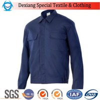 OEM oil field work jacket working clothes men flame retardant workwear clothing for oil companies