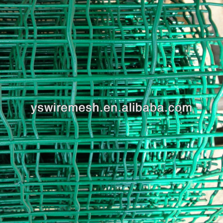 green color pvc holland euro fence