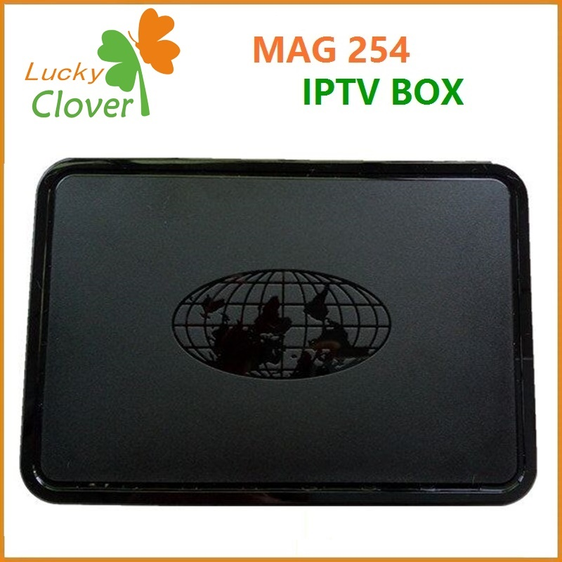 Competitive price New Multimedia Player MAG254 Linux System Internet TV Box IPTV Box MAG 254