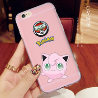 Pokemon Fairy Pet Cover Case for iPhone 6 6S plus 7