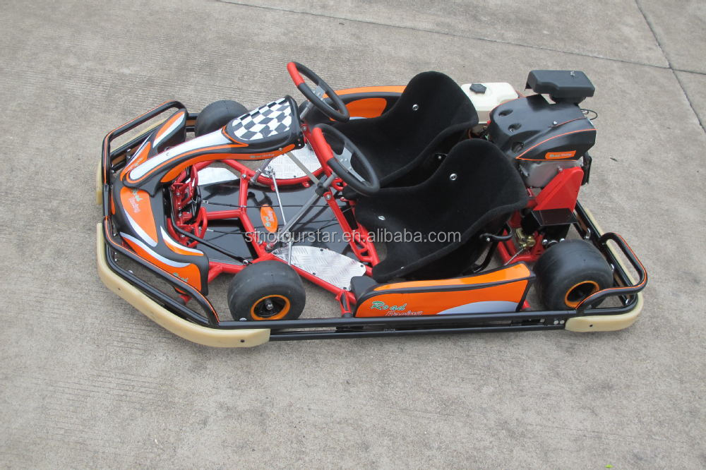 Go Kart Front Bumper : Cc double seat racing go kart with safety bumper