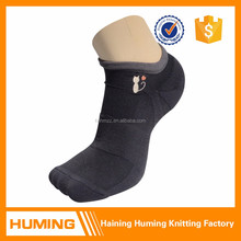 New cat pattern nylon knitted black compression socks
