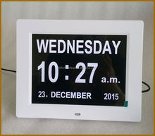 Hot Selling Plastic electronic day and date calendar