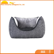 High quality Linen large dog and small pet best sell bed
