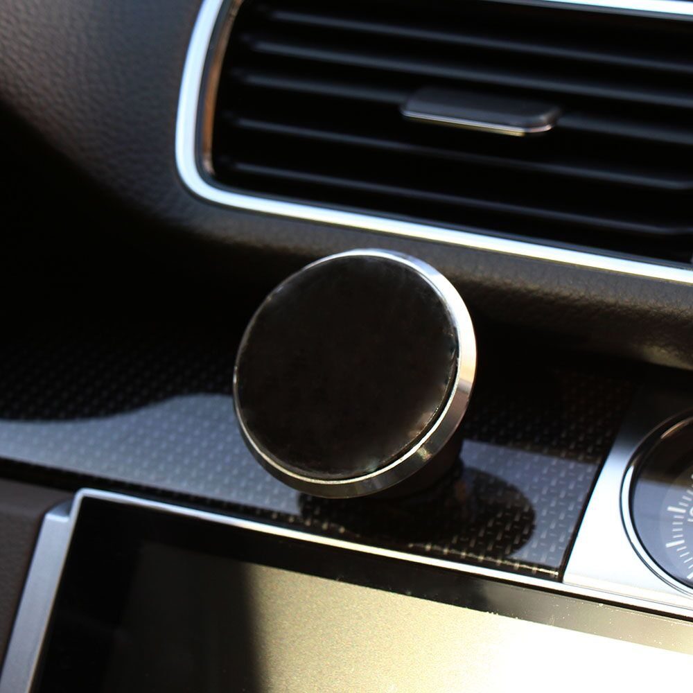 Magnet 360 Degrees Mini windshield dashboard Mobile phone mount holder GPS car phone holder for Samsung