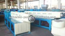 plastic tape extruder machine/extruding machine for pp woven bags/plastic film extruder