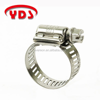Rubber lined hose clamps all 300 stainless steel hose clamps