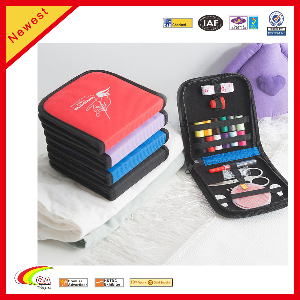 Best Sewing Kit for Home Mini Portable Travel Sewing Kit With Customized Box