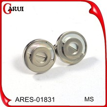 Men earrings stainless steel jewelry silver earring sexy circle round shaped earrings