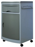 Dental Furniture, grey color Dental Cabinet, Mobile Medical Cabinet