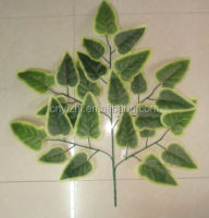wholesale plastic leaves,palm leavesYZT1-1422