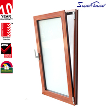 Popular turn and tilt new style wood-aluminum vacuum glass window