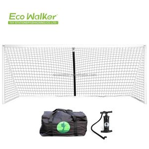 Professional Safe Portable Inflatable Soccer Football Goal Post For Kids and Youth With Pump and Carrying Case