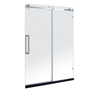 Rectangular Frameless Tempered Glass Sliding Shower Door & Shower Screen JP0203