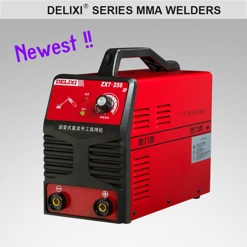 CE approved DC Inverter high frequency arc welding machine good price, MMA-250 single phase