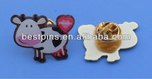 customized design printing lapel pin badge holder (BS-JL-LP-12112902)