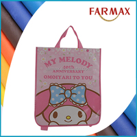 Eco-Friendly Customized non woven foldable shopping bag to carry