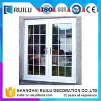 casment window/pvc home decoration doors and windows profiles upvc