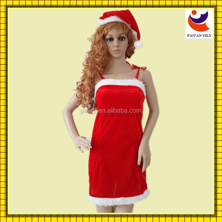 Disney authorized factory production 2014 red tube sex women party dress or christmas, girls christmas dresses