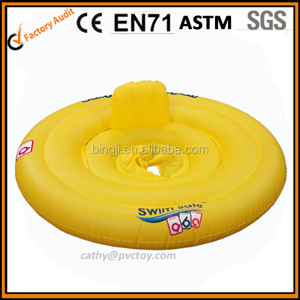Adorable baby pool float, baby float with seat