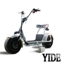 Factory hot sale 80km range golf trolley 2017 Newest lifestyle hottest two wheels foldable electric motorcycle for sale with MAG