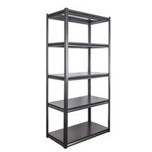Popamazing Heavy Duty 5 Tiers Boltless Commercial Racking Garage Shelving Unit Storage <strong>Shelf</strong> Display Black