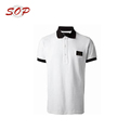 Black Collar And Pocket Popular Men's Polo