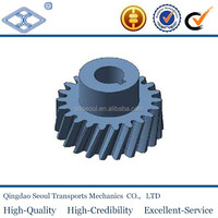 machining JIS standard M1.5 T36 carbon steel sintered metal dgree helical gear wheel