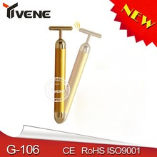 As Seen On TV Face Lift T-shape bio electric face lift 24K T-bars