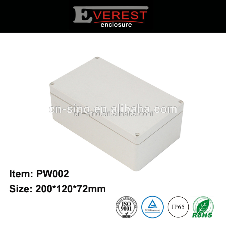ip65 waterproof plastic sealed enclosures for electronics
