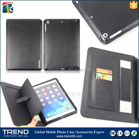 custom designs pu leather wallet phone case for ipad air